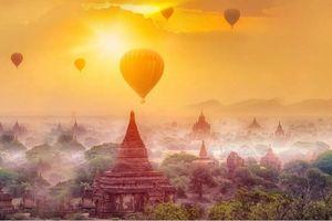 Không thể bỏ qua cảnh đẹp hoàng hôn khi Đến Myanmar