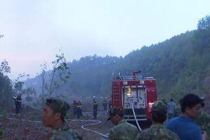 Clip Lãnh đạo Thừa Thiên Huế trực tiếp chỉ đạo chữa cháy rừng