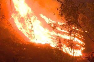 Hơn 70ha rừng thông, keo tràm ở Huế chìm trong biển lửa