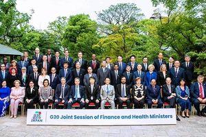 Bộ trưởng Đinh Tiến Dũng dự Hội nghị Bộ trưởng Tài chính và Bộ trưởng Y tế G20