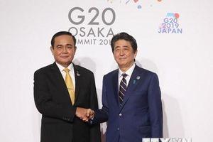 G20: Quan hệ Thái Lan-Nhật Bản sẽ tiếp tục phát triển bền vững
