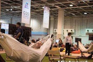 'Đột nhập' Trung tâm báo chí Hội nghị Thượng đỉnh G20
