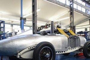 Mercedes gấp rút tái hiện 'Mũi tên bạc' SSKL thế hệ đầu tiên