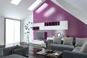 4 ý tưởng trang trí nhà với màu tím cho không gian hiện đại