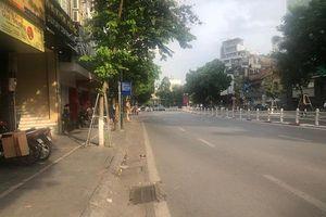 Đường phố Thủ đô vắng vẻ trong đợt nắng nóng cao điểm
