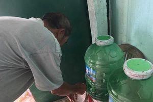 Quảng Ngãi: Hàng trăm hộ dân sống chung với nguồn nước bị nhiễm mặn nặng