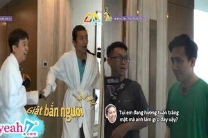 Góc nghi ngờ: Ngô Kiến Huy và BB Trần bất ngờ vào khách sạn mặc áo choàng tắm, rốt cuộc để làm gì?