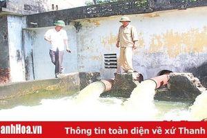 Huyện Quảng Xương bảo đảm nguồn nước phục vụ sản xuất nông nghiệp