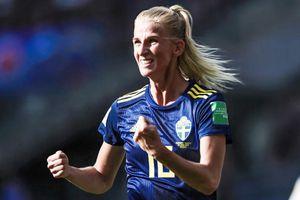 Thụy Điển ngược dòng đánh bại Đức tại tứ kết World Cup nữ