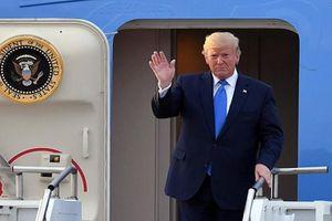 Tổng thống Trump tới Hàn Quốc hội đàm với ông Moon Jae-in