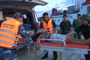 Kịp thời cấp cứu thuyền viên bị viêm ruột thừa cấp khi đang hành nghề trên biển