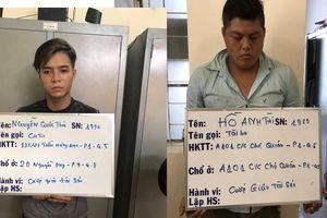 2 nghi phạm trong đường dây chuyên cướp giật tại TP.HCM bị bắt giữ