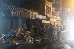 TP.HCM: Cháy nhà trên đường Bà Lê Chân, Q.1 gây mất điện diện rộng