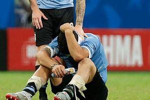 Luis Suarez khóc nức nở sau khi khiến tuyển Uruguay bị loại