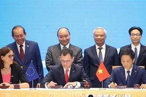 Truyền thông quốc tế đưa tin Việt Nam-EU ký Hiệp định thương mại tự do