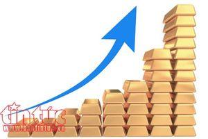Tuần 'thăng hoa' của giá vàng