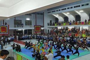Khai mạc Giải võ thuật cổ truyền các võ đường Bình Định tranh cúp Hoàng Đế Quang Trung - Lần thứ III năm 2019