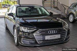 Ảnh chi tiết Audi A8L giá gần 5 tỷ đồng tại Malaysia