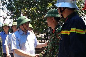 Trưởng Ban Tổ chức Trung ương Phạm Minh Chính thăm hỏi lực lượng chữa cháy rừng Hà Tĩnh