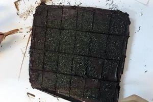 Nam sinh chế bánh ngọt chứa cần sa để bán qua mạng