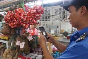 Quản thực phẩm chợ truyền thống: Phải có mã QR Code