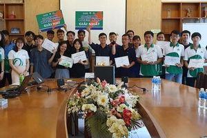 Sinh viên hào hứng tham gia cuộc thi HCMC Mapathon 2019