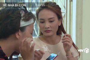 Phim Về nhà đi con tập 55: Cả nhà Thư sững sờ khi nghe giọng phụ nữ trong điện thoại Vũ