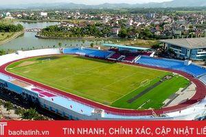 Sân vận động Hà Tĩnh sẵn sàng cho ngày khánh thành