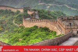 Trung Quốc dùng gạch cũ tu sửa Vạn Lý Trường Thành