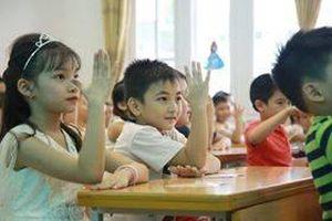 Hà Nội bắt đầu tuyển sinh đầu tuyến vào lớp 1