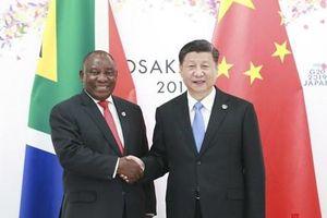 Tổng thống Nam Phi cam kết ủng hộ hãng Huawei của Trung Quốc