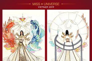 'Sơn Tinh - Thủy Tinh' chính thức dẫn đầu Top 5 bình chọn National Costume cho Hoàng Thùy