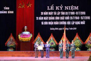 Quảng Bình kỷ niệm 30 năm tái lập tỉnh