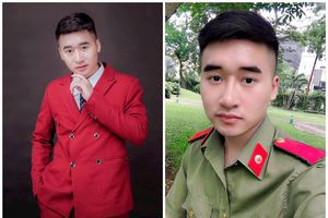 Chân dung điển trai của hot boy cảnh sát 9x Bắc Giang