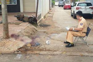 Bất ngờ tông trụ điện ven đường, nam thanh niên tử vong tại chỗ