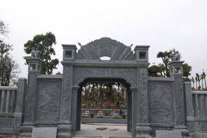 Thái Bình: Ai giúp 'siêu nghĩa trang' xây hoành tráng trên đất nông nghiệp?