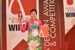 Họa sĩ Nguyễn Thu Thủy đoạt giải Vàng cuộc thi 'Thiết kế quốc tế'