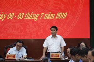 Chủ tịch UBND TP Nguyễn Đức Chung: Đẩy nhanh giao đất dịch vụ cho người dân