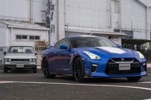 Nissan GT-R bản kỷ niệm 50 năm, đắt hơn bản tới tiêu chuẩn 20.000 USD
