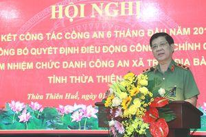 Thứ trưởng Bộ Công an Nguyễn Văn Sơn: CBCS được điều động công an xã phải gần dân, hiểu dân và phục vụ tốt cho dân