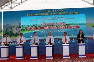 Quảng Ngãi khởi công xây Đập dâng hạ lưu sông Trà Khúc