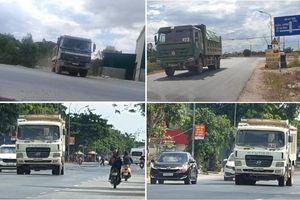 Nghệ An: Quốc lộ 46 oằn mình gánh đoàn xe có dấu hiệu quá khổ, quá tải?