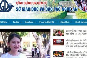 Tra cứu điểm thi THPT quốc gia 2019 ở Nghệ An