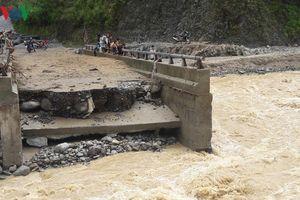 Các công trình xây dựng tại Lai Châu bị đe dọa khi mùa lũ đến