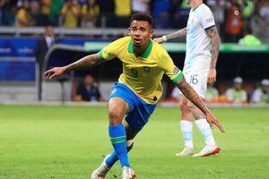 Gabriel Jesus che mờ Messi, Brazil vào chung kết Copa America 2019