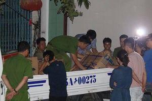 Công an xuyên đêm khám xét trụ sở của 'ông trùm' vận tải ở Huế, thu giữ một xe tải tài liệu