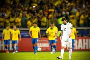 Messi bất lực, Argentina đau đớn nhìn Brazil vào chung kết