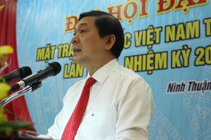 Ninh Thuận tổ chức đại hội Mặt trận lần thứ X