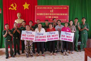 Bộ đội Biên phòng TP HCM chung sức xây dựng nông thôn mới