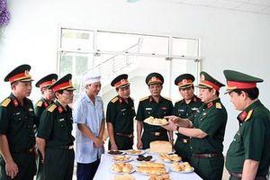 Kiểm tra công tác huấn luyện Đội tuyển Bếp dã chiến dự thi Armygames-2019